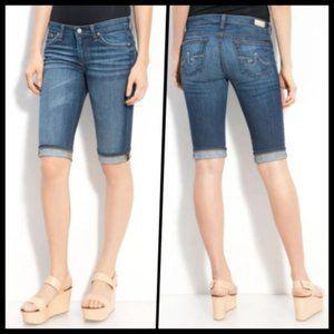 AG Jeans Malibu Skinny Leg Bermuda Shorts 28